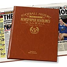 Personalised MILLWALL A3 COLOUR Football Newspaper Book Gift For Birthday/Men/Dad/Fathers Day/Christmas
