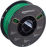 AmazonBasics – Filamento de PLA para impresora 3D, 1,75mm, Verde, bobina de 1kg