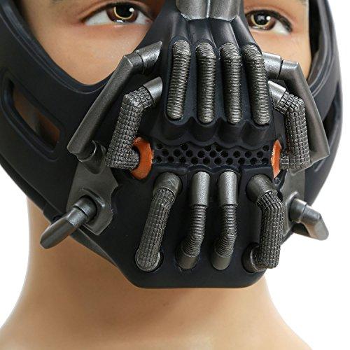 Cosplay Kostüm Maske Herren Halloween Verrücktes Kleid Latex Helm Replik für Erwachsene Party Zubehör - James Lebron Halloween