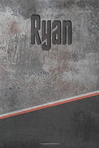 Ryan: Stone Name Writing Journal por Rob Cole