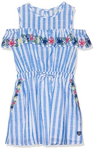 Pepe Jeans Mädchen Jesica Kleid, Blau (Electric Blue 554), 11-12 Jahre (Herstellergröße: 12) (Jeans-kleid Mädchen-blaue)