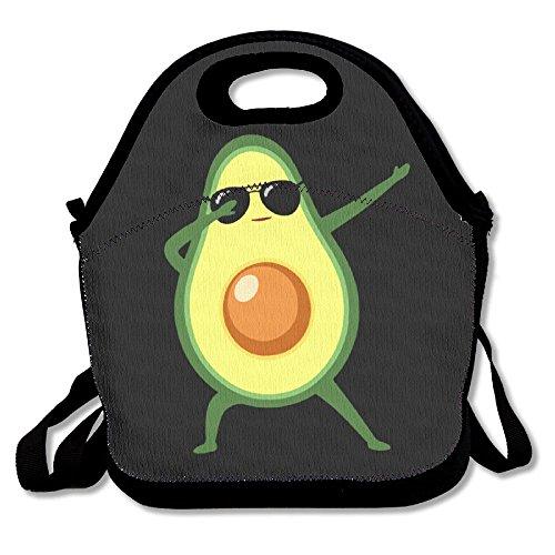 (Jieruikam Isolierte Lunchtasche Avocado, multifunktional, wasserdicht, wiederverwendbar, Picknick-Taschen für Damen, Herren, Kinder)