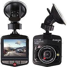 Cámara De Coche Full HD 1080P Dash CAM Gran Ángulo Dashcam, G-Sensor,