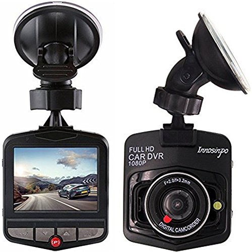 Cámara De Coche Full HD 1080P Dash CAM Gran Ángulo Dashcam, G-Sensor,con Sensor G de Alta sensibilidad, detección de Movimiento, Monitor de estacionamiento, grabación de Bucle, ángulo Amplio 140 °