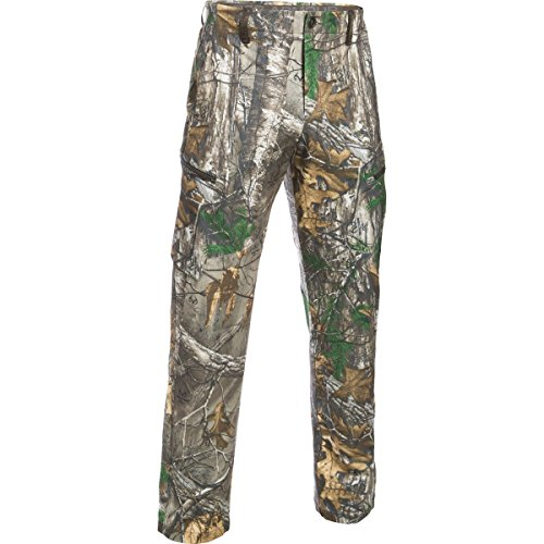 Under Armour Men's Deadload Camo Field Pants, Realtree Ap-Xtra/Maverick Brown, 34/32