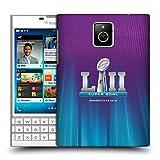 Official NFL Northern Lights Glow 2 2018 Super Bowl LII Hard Back Case for BlackBerry Passport