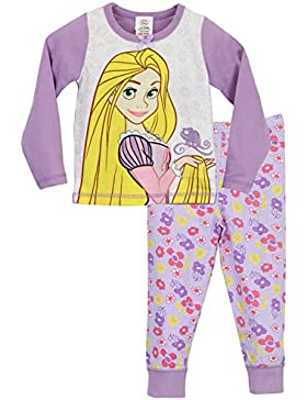 Disney Rapunzel - Pigiama a maniche lunghe per ragazze - Rapunzel