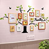 William 337 Wandaufkleber, Acryl, 3D, Fotorahmen, Wanddekoration, Kreativer Hintergrund, Fotorahmen, B