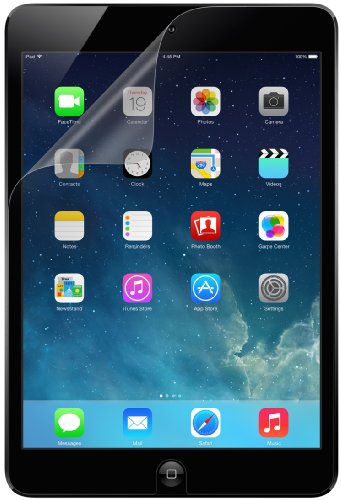 Belkin Anti Finger Screen Overlay Schutzfolie (geeignet für Apple iPad mini) Print (Belkin Mini Screen Protector)
