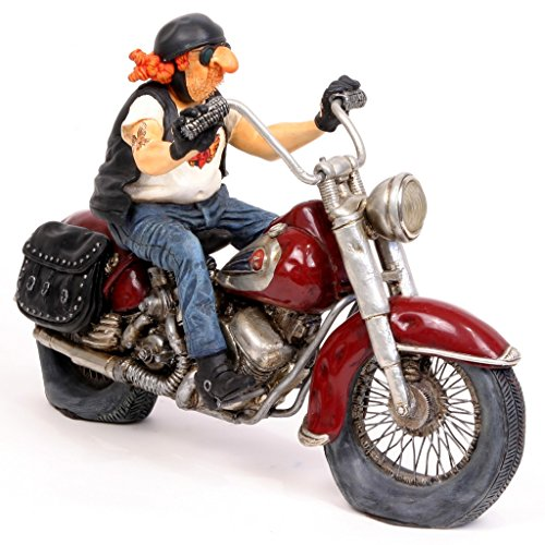 Guillermo Forchino The Motorbike Figurine Comic Art of 10 1/5 inch Length by