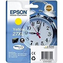Epson Alarm Clock No.27 XL Series High Capacity Ink Cartridge - Yellow