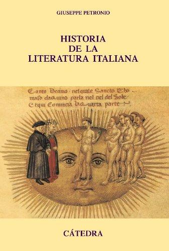 Historia de la literatura italiana (Crítica Y Estudios Literarios - Historias De La Literatura) por Giuseppe Petronio