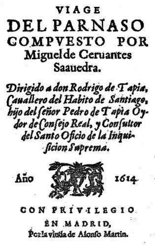 Viaje del Parnaso por Miguel de Cervantes Saavedra