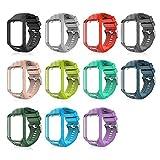 Peedeu pour Tomtom Montre Bracelet Silicone Bracelets de Remplacement pour Tomtom...