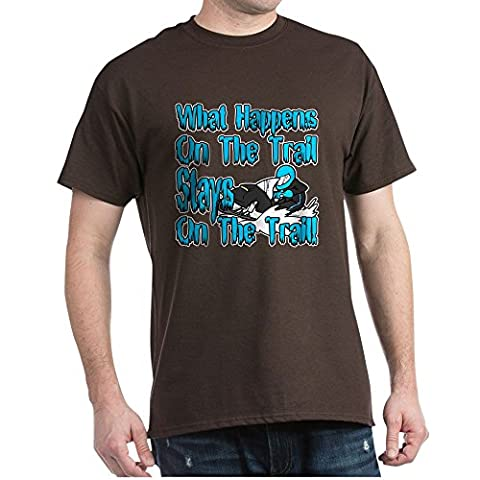CafePress - On The Trail - 100% Cotton T-Shirt