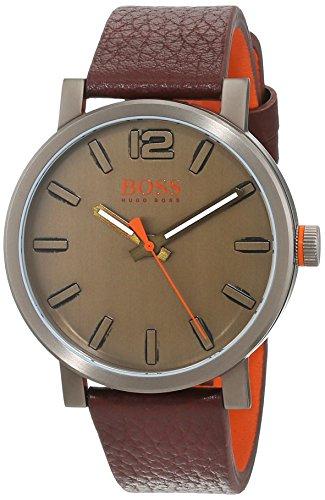 Hugo Boss Orange Reloj Análogo clásico para Hombre de Cuarzo con Correa en Cuero 1550036