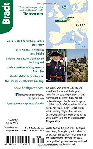 Waterloo & Beyond (Bradt Travel Guides)