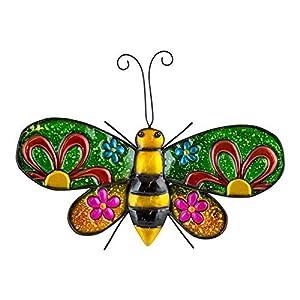 Decorative Metal Bee Garden Wall Art from Fountasia
