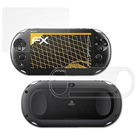 Sony PlayStation Vita Slim Displayschutzfolie - 3er Set atFoliX FX-Antireflex blendfreie Folie Schutzfolie