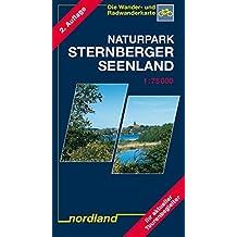 Naturpark Sternberger Seenland: 1:75000, Wander- und Radwanderkarte (Mecklenburgische Seenplatte)
