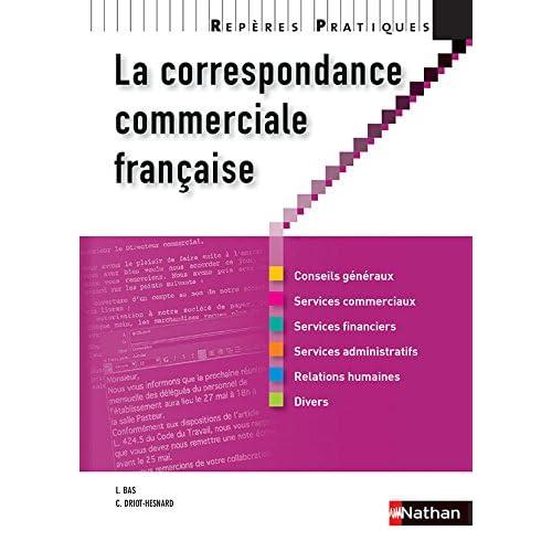 La correspondance commerciale française - Collection Repères Pratiques