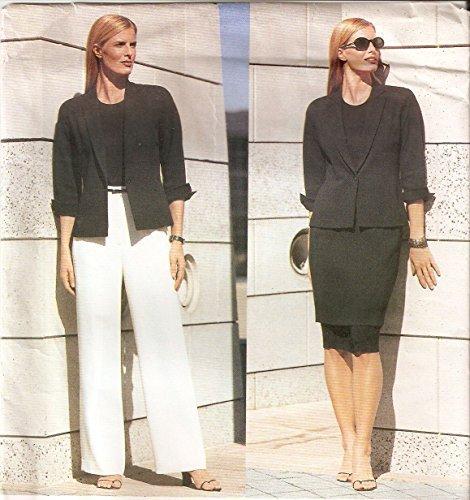 Vogue American Designer-muster (Vogue sewing pattern 2390 Anne Klein suit separates - Size 18-20-22 by Vogue American Designer)