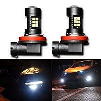 Cette ampoule dispose de 3 LEDS frontales et de 18 LEDS latérales ce qui offre une excellent diffusion de la lumière sur 540°Ampoule LED Anti-brouillard H8/9/11 H16 Japonais Universal pour un éclairage optimal,haut de gammeCes ampoules projecteur h16...