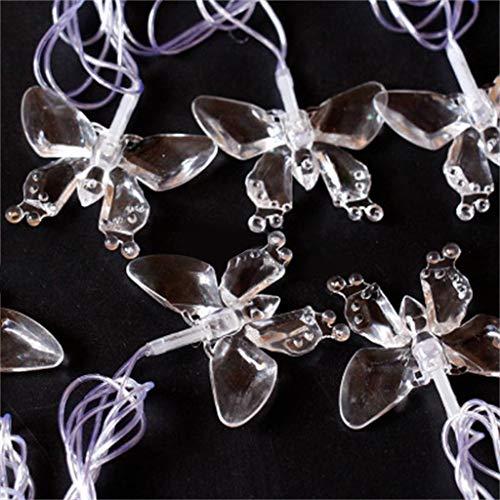 t String Festival Deko Licht Outdoor dekorative Lichter, Gartenleuchten, Ideal für Weihnachtsdeko, Innen, Außen, Weihnachten Party usw. Warmweiß ()