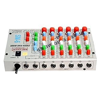 Medha D J Plus Iron Sound Mixer ,Black
