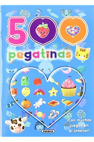 Descargar gratis 500 Pegatinas, Pack De 2 Títulos de Equipo Susaeta