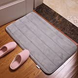 FLYRCX Stanza da bagno in stile europeo Tappetini assorbenti doccia cucina camera da bagno tappetino antiscivolo 50*80cm,un
