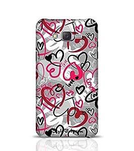 Samsung Case Designer Love-Print for J5 Multicolor