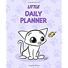 Little Daily Planner: No Dates - 5x6 inches - Cat Design - Purple by Barbara Pelizzoli (2015-11-03)