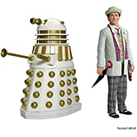 The Seventh Doctor and Imperial Dalek Classic Dr Who figure set