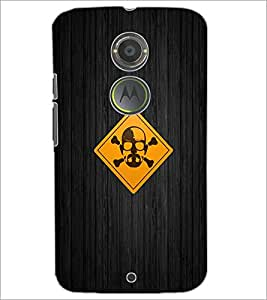 PrintDhaba Funny Image D-4018 Back Case Cover for MOTOROLA MOTO X2 (Multi-Coloured)