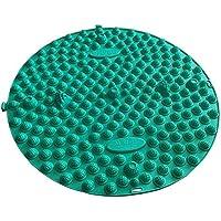 Runde Fußmassager-Therapie-Matten-Fuß-Massage-Auflage Shiatsu-Blatt [Grün] preisvergleich bei billige-tabletten.eu