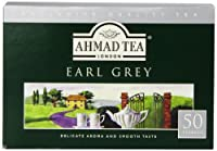 Ahmad Tea Earl Grey Teabag,125 gram, 50 Count (Pack of 12)