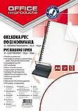 Office Products 20221515–90carátulas para encuadernar PVC, A4, 150g/m² 100unidades), transparente