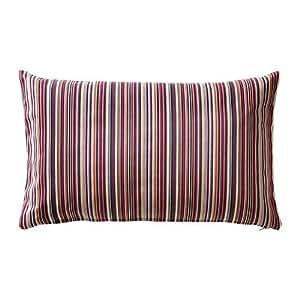 ikea kulladal housse de coussin multicolore 40x65 cm cuisine maison. Black Bedroom Furniture Sets. Home Design Ideas