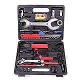 Fahrrad Werkzeug Reparatur Set 44 teilig Tool Box Werkzeugtasche Werkzeugkoffer Tragekoffer Fahrradwerkzeugset