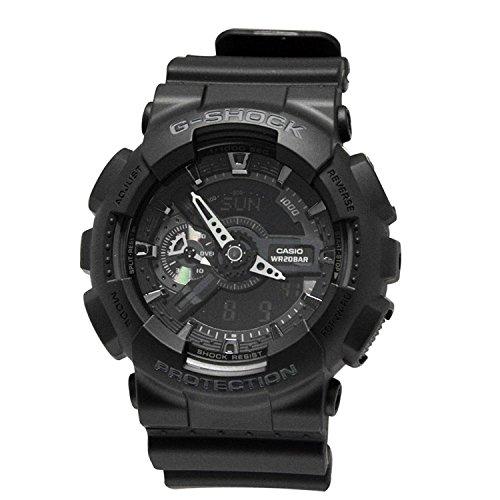 CASIO Mens Watch GA110-1B Hyper-Color G-Shock Overseas Model GA110-1B
