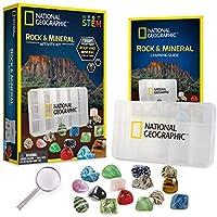 NATIONAL GEOGRAPHIC - Juego de colección de rocas, minerales y fósiles, para niños de todas las edades, gran actividad infantil