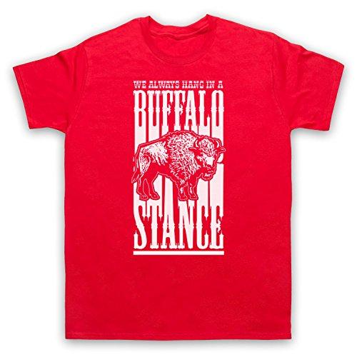 Inspiriert durch Neneh Cherry Buffalo Stance Unofficial Herren T-Shirt Rot