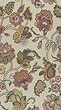 Raumausstatter.de Möbelstoff Rubens 508 Blumenmuster