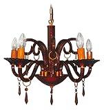 Decorative 5 Light Crystal Chandelier