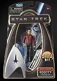 Star Trek - Movie 2009 - Galaxy Collection - SCOTTY - 3 3/4 Inch /ca. 10cm Action Figur - incl. U.S.S. Enterprise / Bridge Teil B11 - OVP