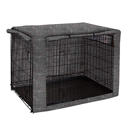 HANSHI HZC1182 Hundekäfigabdeckung, aus Polyester, strapazierfähig, Winddicht, für Drahtkäfige, für Innen- und Außenbereich