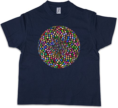 Psychedelic disco light ragazzi t-shirt retro oldies music musik nerd techno indie electro wave new hipster club clubbing rave cyber dance mirror ball starlight star 70s 80s 90s
