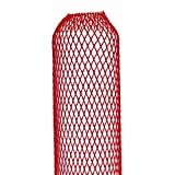 Netzschutzschlauch, Oberflächenschutznetz ProtectaSleeve Standard, Ø 50-100mm, 50m rot, zum Schutz...