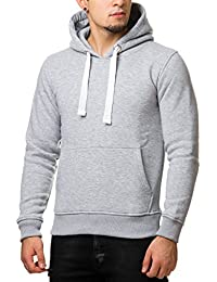 Young Rich Herren Hoodie Long Oversized Sweatshirt Schwarz Weiß Grau Rot  Blau 900 18809f5a10